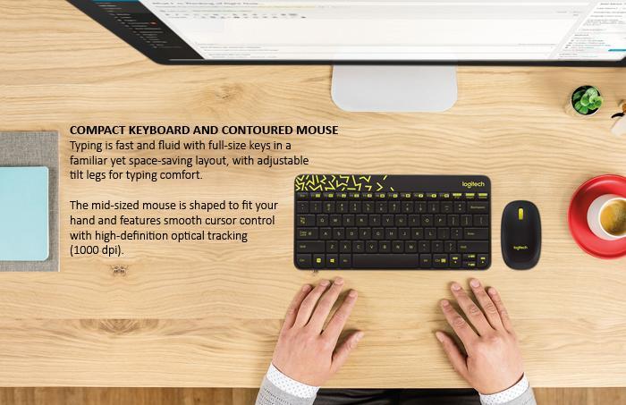 Bộ bàn phím và chuột không dây Logitech MK240 (Trắng đỏ) - Hãng phân phối chính thức 1.jpg