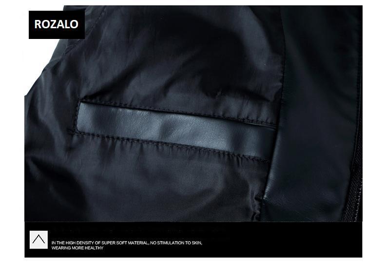Áo da nam thời trang cổ tròn Rozalo RM8916B-Đen11.jpg