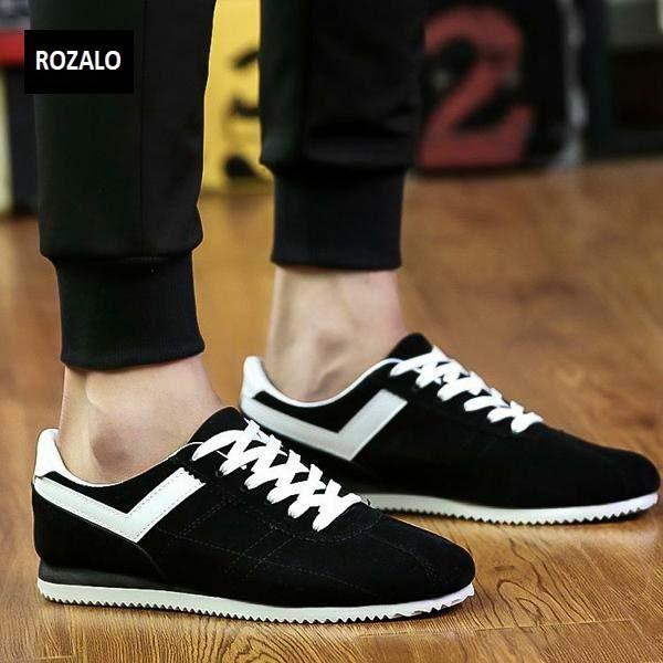 Giày casual thể thao nam Rozalo RMG3602BW-Đen Trắng8.jpg