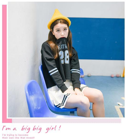 Váy Ngắn Xếp Ly Lưng Cao Hàn Quốc-BT Fashion VA025(Phối Viền-Hồng) - Ảnh 10