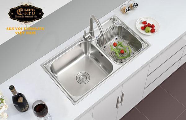 Chậu rửa chén Inox 2 hộc  Eurolife EL-C5-13.jpg
