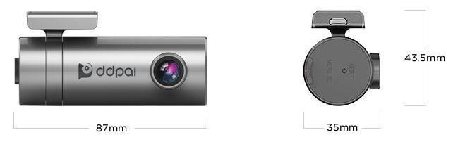 DDPai MINI 2 Camera hành trình độ nét cao, tích hợp Wifi không dây. Độ phân giải 2K Ultra HD