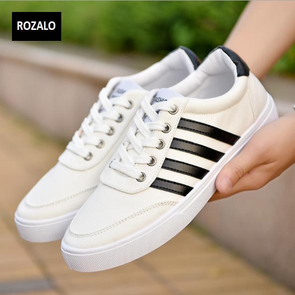 Giày vải nam đế bằng thoáng khí Rozalo RM49628W-Trắng1.png