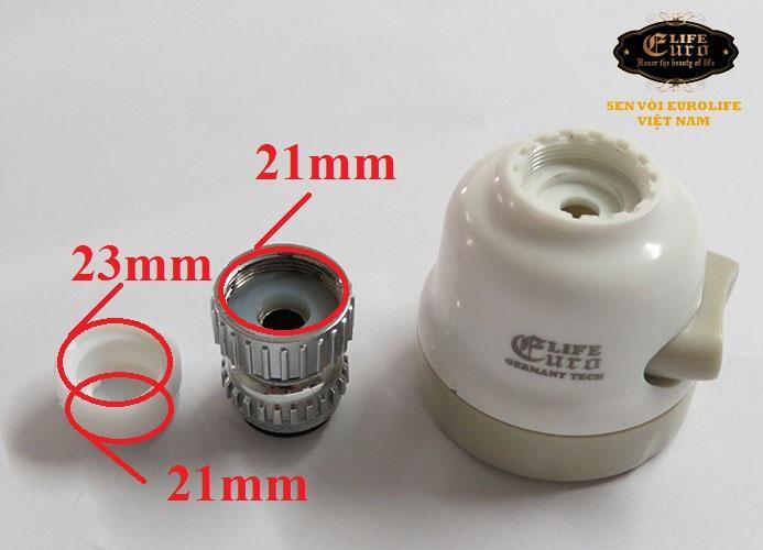 Đầu vòi tăng áp điều hướng 360 độ, 3 chế độ chảy Eurolife EL-TA01 ( Trắng )-9.jpg