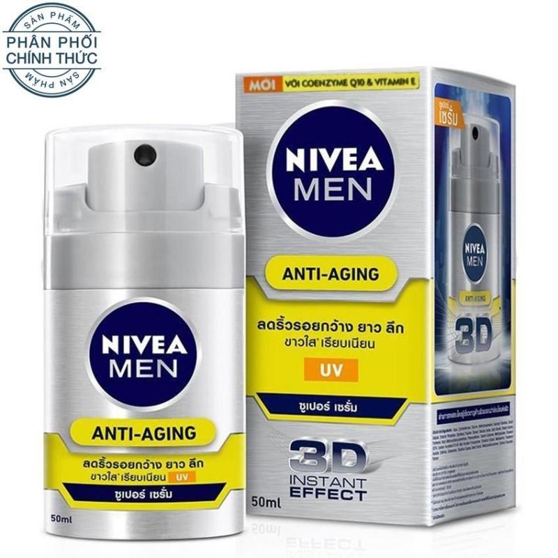 Tinh chất dưỡng da chống lão hóa NIVEA Men Anti Aging 50ml