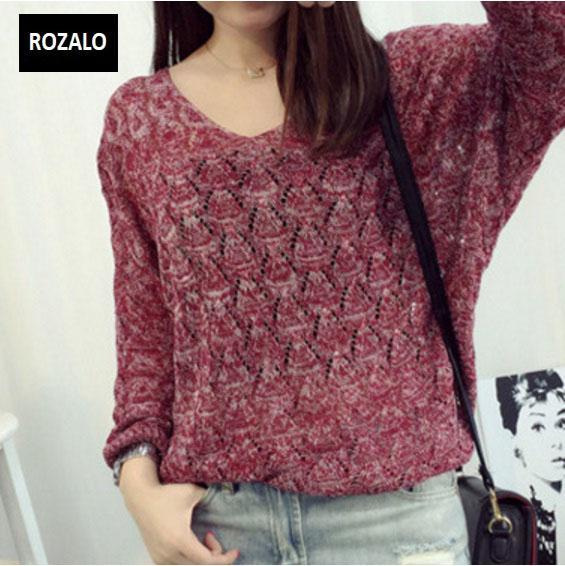 Áo len nữ kiểu mỏng dài tay Rozalo RW25803R-Đỏ7.jpg