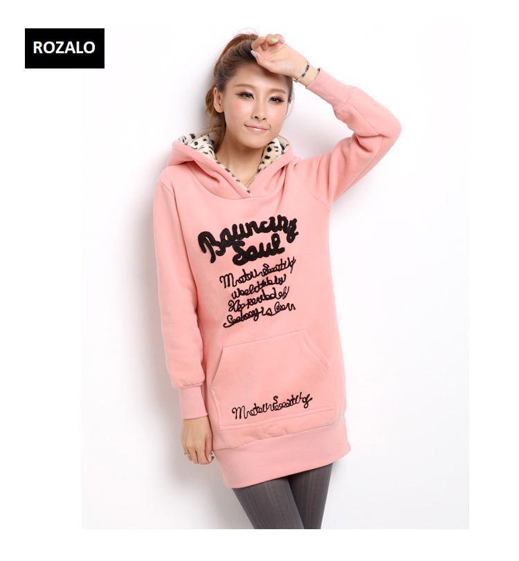 Áo khoác nữ hoodie thời trang Rozalo RW2961P-Hồng3.jpg