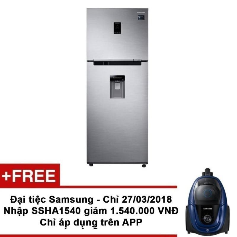 Tủ lạnh Samsung hai cửa Twin Cooling Plus RT35K5982S8/SV 322L + Tặng Máy hút bụi Samsung model VC18M3110VB/SV trị giá 2.290.000VNĐ