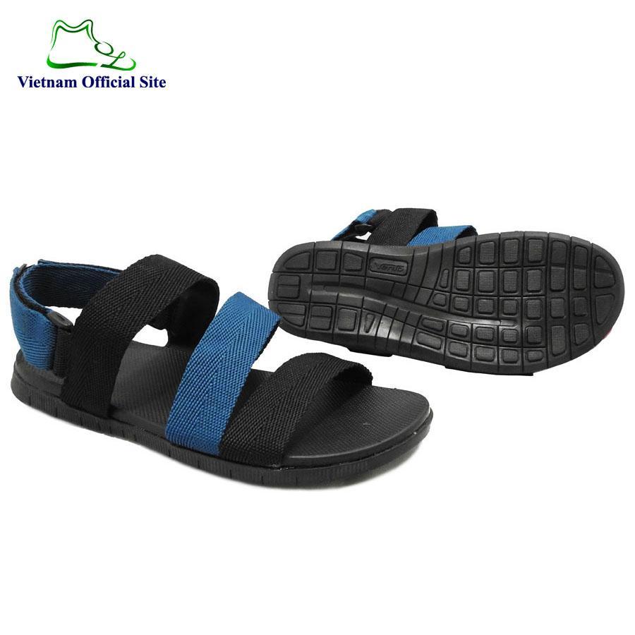 Giày sandal 3 quai ngang nam hiệu Vento NV5704BXD