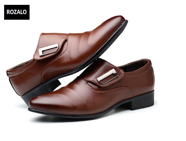 Giày tây nam công sở kiểu xỏ Rozalo RM62001N-Nâu2.png