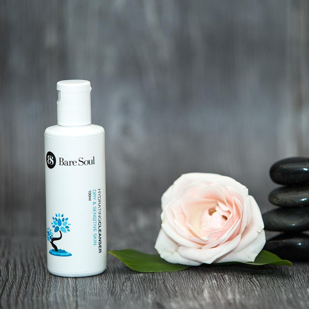 Sữa rửa mặt BareSoul Hydrating Cleanser Dry & Sensitive Skin
