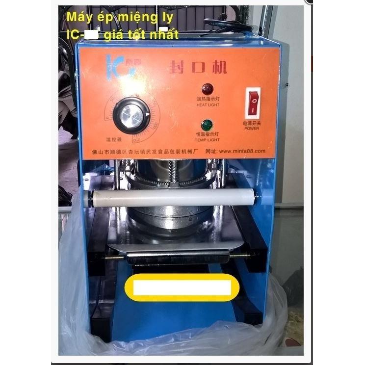 Máy dập miệng, máy dán IC-27 - cốc cao 700- Tặng màng ép 2kg