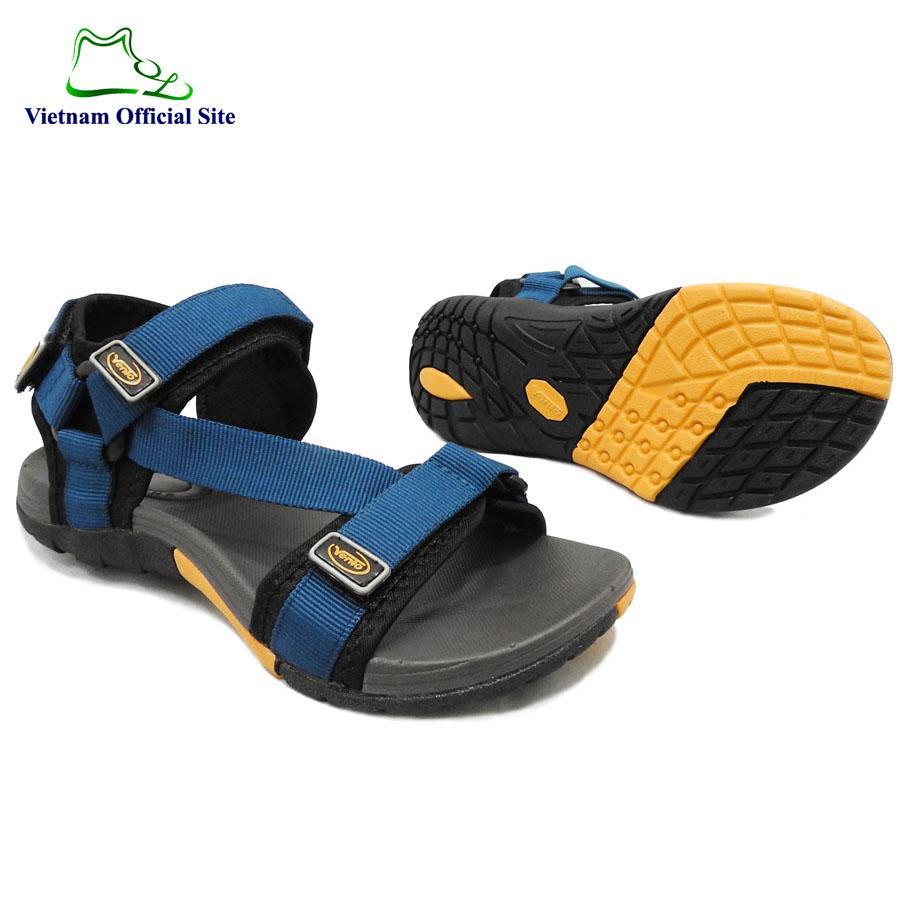 Giày sandal quai ngang dây chéo kiểu nam hiệu Vento NV4538BCh