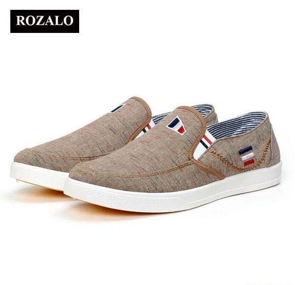Giày lười vải nam ROZALO RM5414