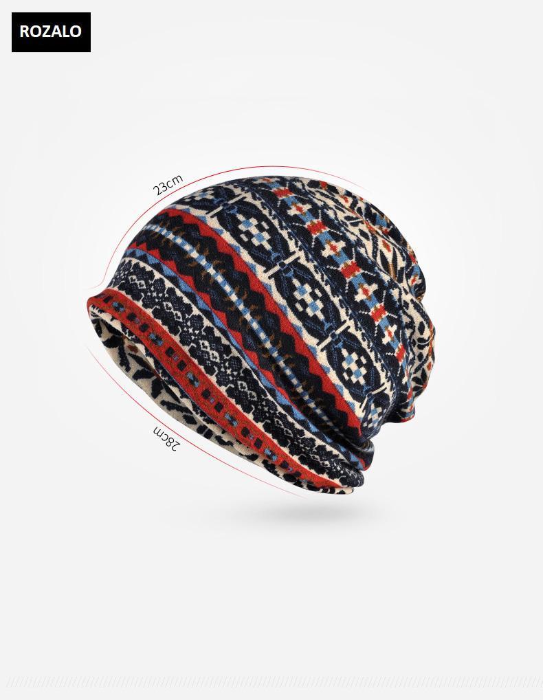 Mũ trùm đầu dạng khăn quàng cổ nam nữ Rozalo RZ81375-M1g.jpg