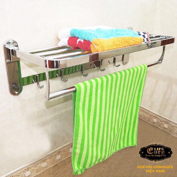 Kệ treo khăn tắm inox đa chức năng Eurolife EL-B6-.jpg