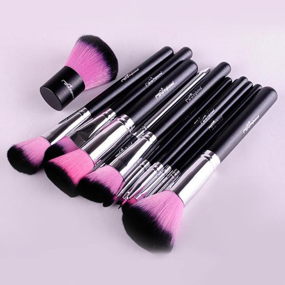 Bộ cọ trang điểm MSQ màu hồng 12 cây MSQ New Arrival 12Pcs Make up Brush (pink) 8