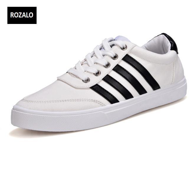 Giày vải nam đế bằng thoáng khí Rozalo RM49628W-Trắng.png