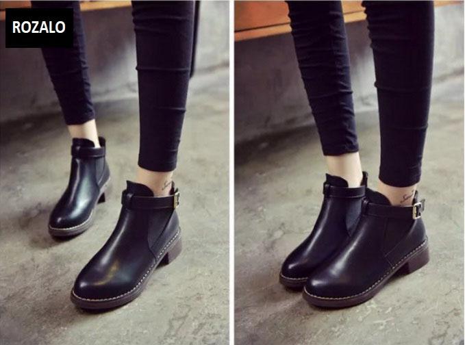 Giày chelsea boots nữ có đai Rozalo RW3758B-Đen6.jpg