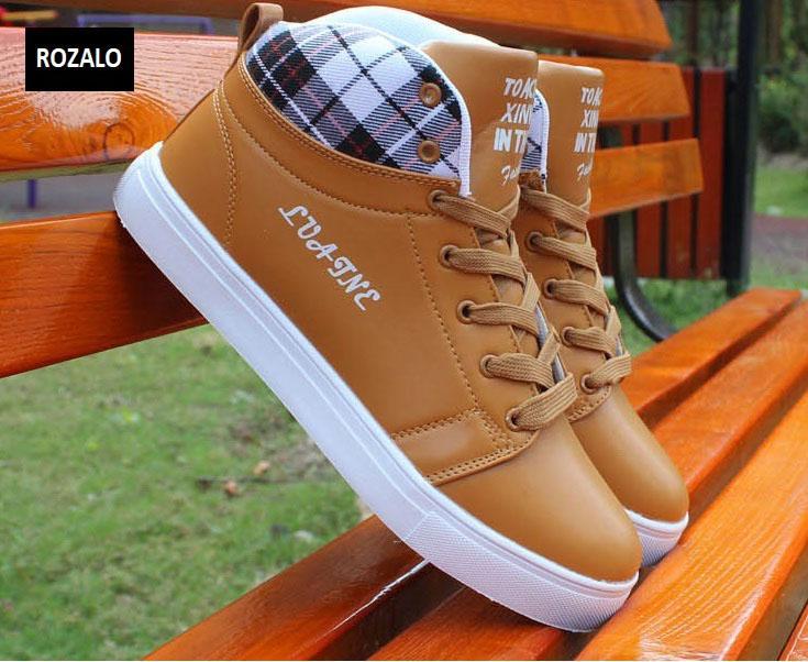 Giày cổ cao thời trang nam Rozalo RM5822N-Nâu5.jpg