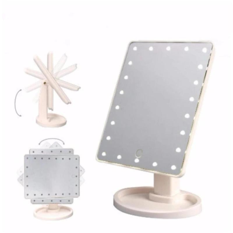 Gương trang điểm có đèn leb