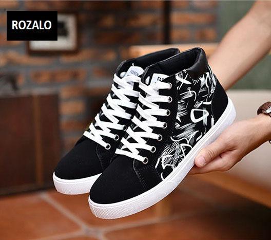 Giày cổ cao thời trang nam Rozalo RM6509B-Đen5.jpg