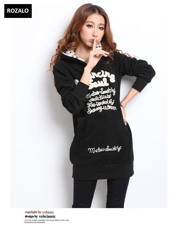 Áo khoác nữ hoodie thời trang Rozalo RW2961B-Đen4.jpg
