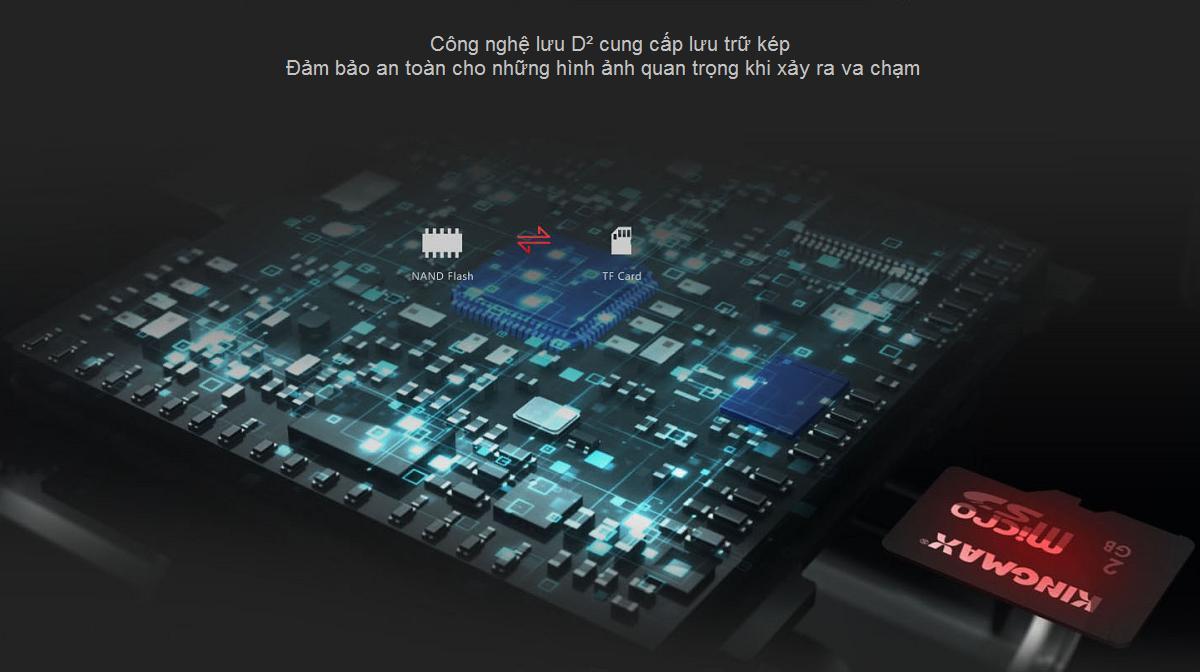 DDPAI X2 PRO Camera hành trình kỹ thuật số kép với độ phân giải 2K Ultra HD