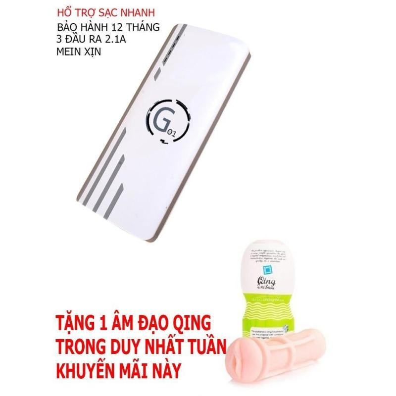 Bảng giá Pin sạc dự phòng G01 Litinum 20000MAH (Trắng) -hổ trợ sạc nhanh + tặng cáp sạc và DUNG CỤ HỔ TRỢ CHO NAM Phong Vũ