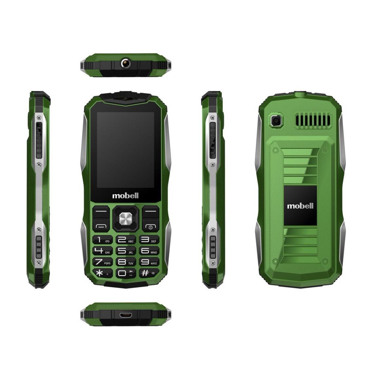Điện thoại Mobell Rock1 Màn hình to, cỡ chữ lớn, pin 2500 mAh Bảo hành 12 tháng