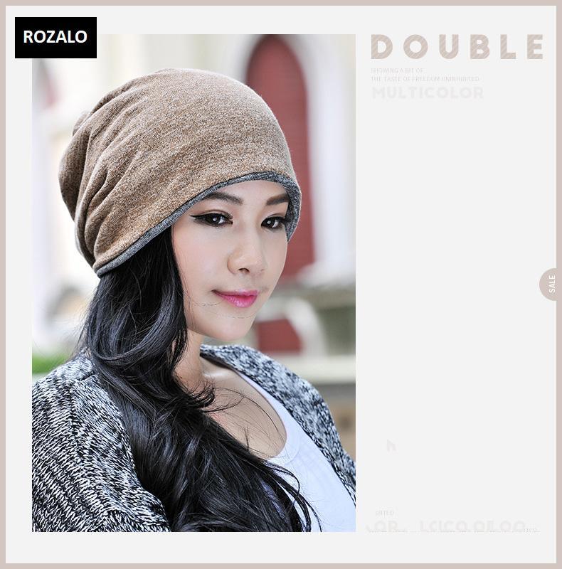 Mũ trùm đầu dạng khăn quàng cổ nam nữ Rozalo RZ81375-M3f.jpg