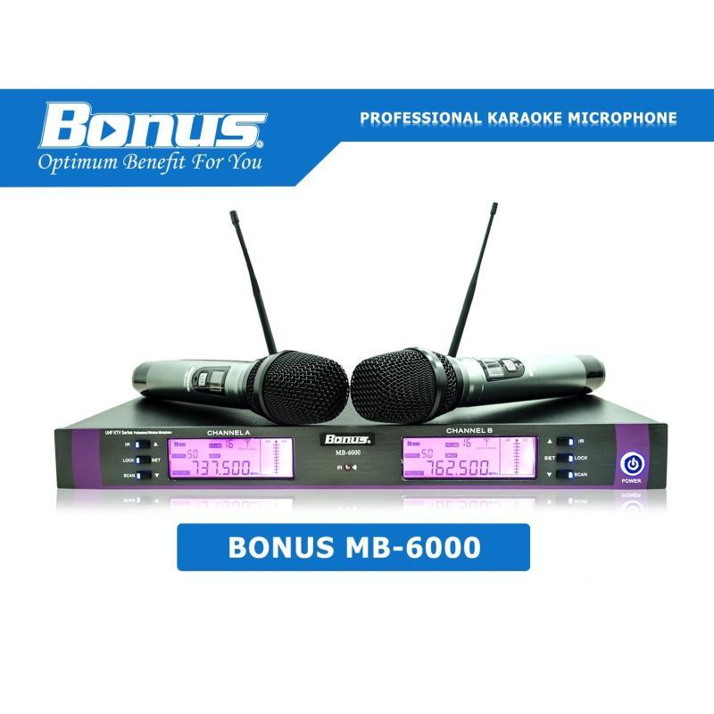 Micro karaoke không dây Bonus Audio MB-6000