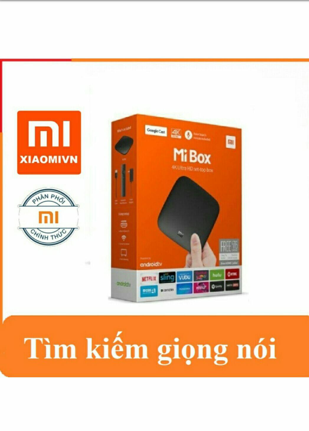 Bảng giá Android Tivi Mi box 4k phiên bản quốc tế ( tìm kiếm giọng nói )