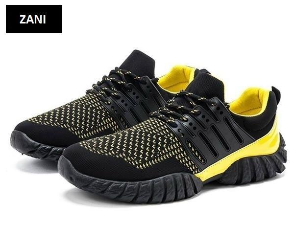 Giày thể thao nam ZANI ZN33913YB-Vàng Đen
