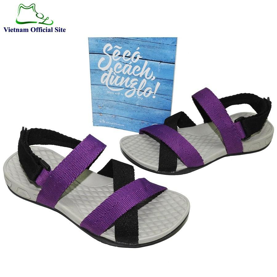 Giày sandal nữ quai chéo hiệu Vento NV8523Pu