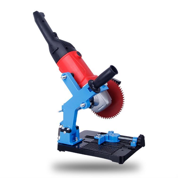 Bộ chân đế kẹp chuyển máy mài thành máy cắt bàn
