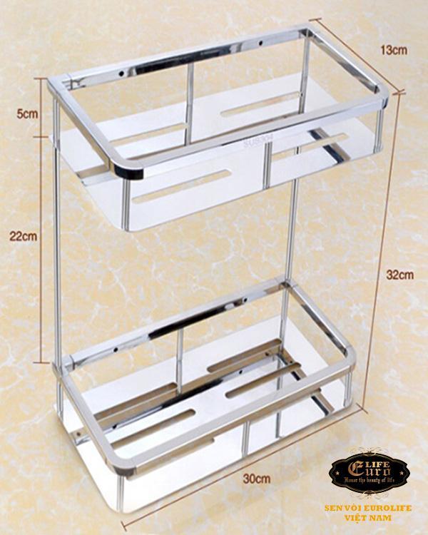 Kệ phòng tắm 2 tầng Inox SUS 304 Eurolife EL-KT10-2.jpg