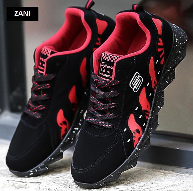 Giày thể thao thời trang nam đế cao su Zani ZN52322