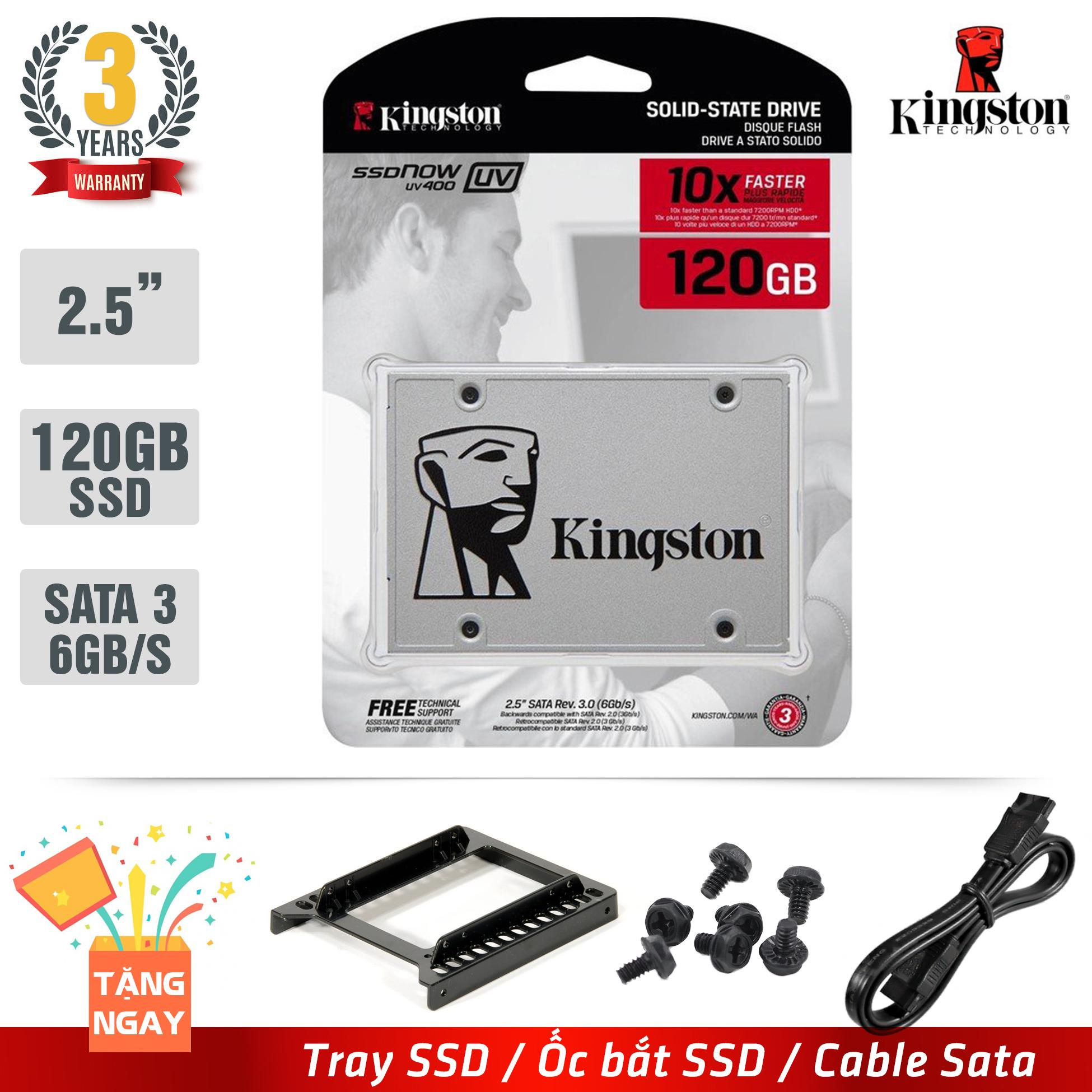 Cng Ssd Kingston Uv400 120gb Sata 3 Tng Tray C Bt Iii Gii Thiu Dy