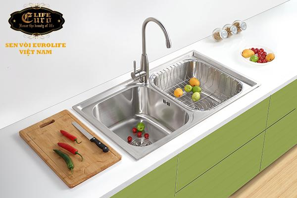 Chậu rửa chén Inox 2 hộc  Eurolife EL-C8-7.jpg