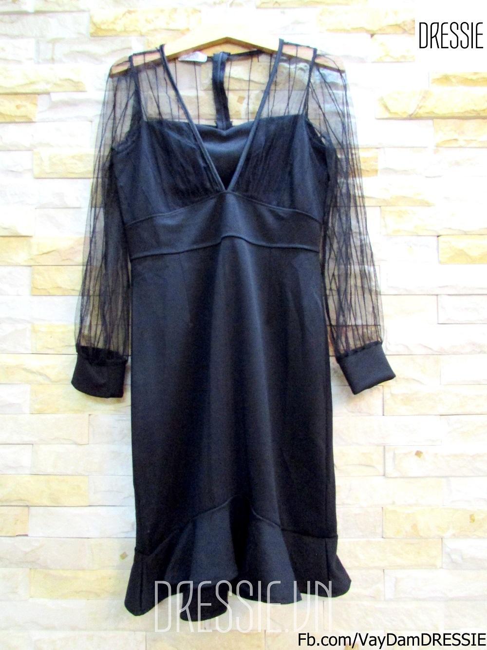Đầm body đuôi cá (3).JPG