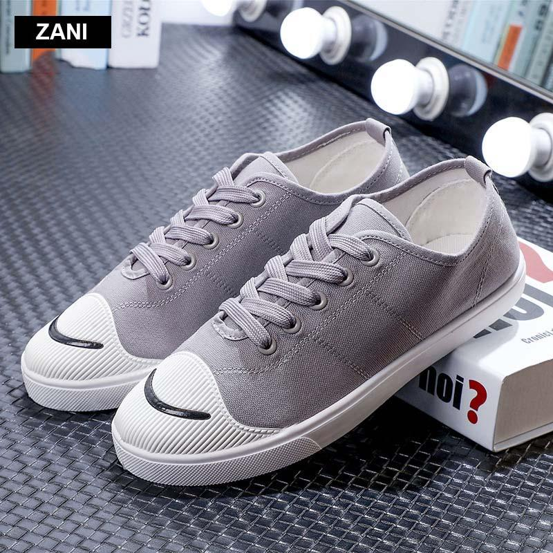 Giày vải  nam mũi bọc cao su dẻo vải chống mài mòn ZANI ZN56658