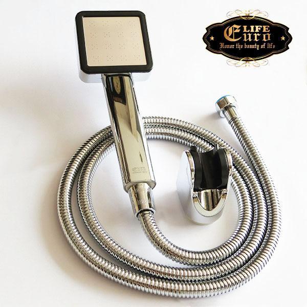 Bộ tay dây sen siêu tăng áp 1 chế độ nước chảy Eurolife EL-113SH-8.jpg