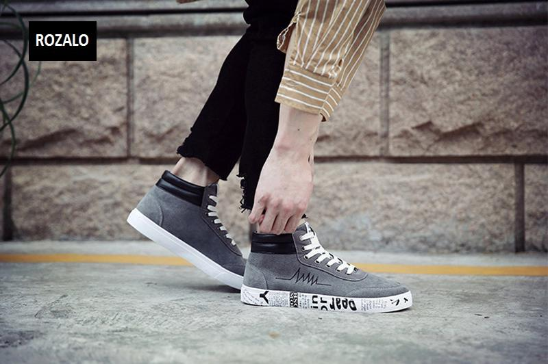 Giày vải casual nam cổ cao Rozalo RM55709 16.png