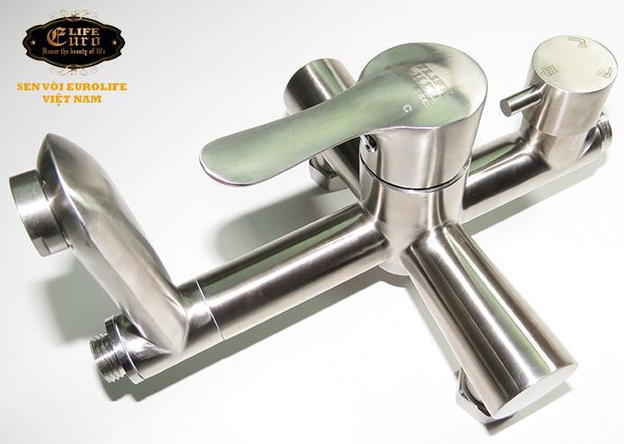 Bộ sen tắm đứng nóng lạnh Inox SUS 304 Eurolife EL-S917 (Trắng vàng)-14.jpg