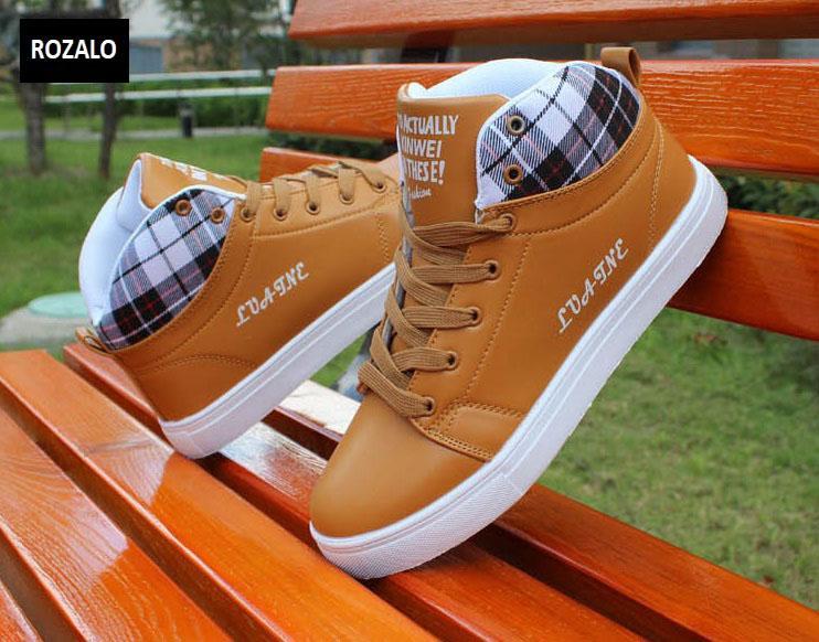 Giày cổ cao thời trang nam Rozalo RM5822N-Nâu6.jpg
