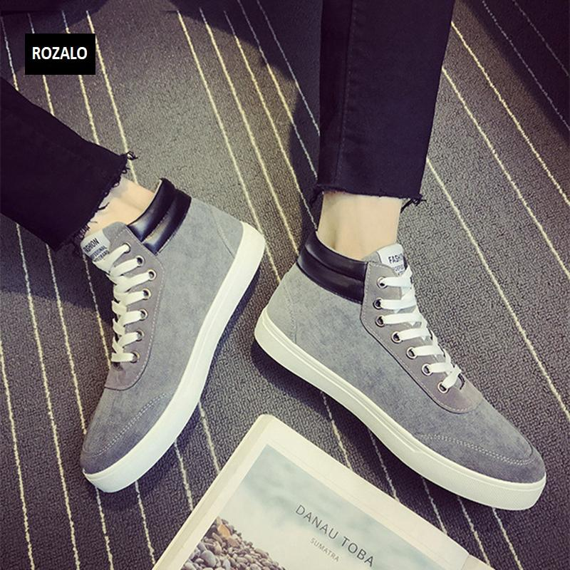 Giày vải casual nam cổ cao Rozalo RM55709 23.png