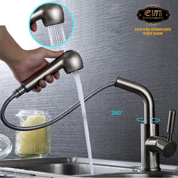 Vòi rửa chén nóng lạnh tay kéo Inox SUS 304 Eurolife EL-T010 -323.jpg