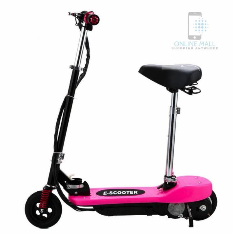 Phân phối Xe scooter điện tốc độ tối đa 15km/h, tải trọng 75kg (pink)