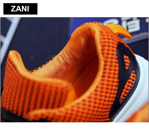 Giày sneaker thể thao nữ thoáng khí ZANI ZN6429G-Xám